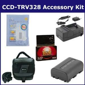 Sony CCD TRV328 Camcorder Accessory Kit includes HI8TAPE Tape/ Media