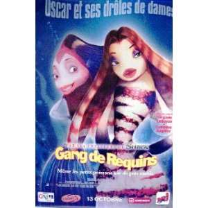 SHARKS TALE   STYLE A (FRENCH ROLLED) Movie Poster