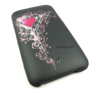 VINTAGE HEART HARD CASE COVER IPOD TOUCH 2ND 3RD GEN