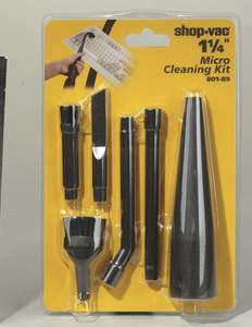 SHOP VAC MICRO CLEANING KIT 801 89 02 1 1/4  879957001589