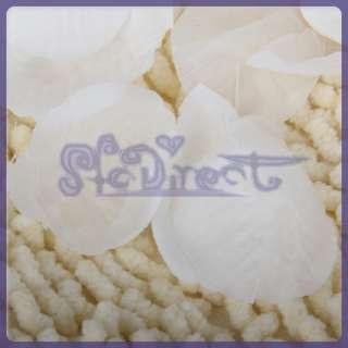 300 white Petals Wedding Bridal Flowergirl Basket Favor