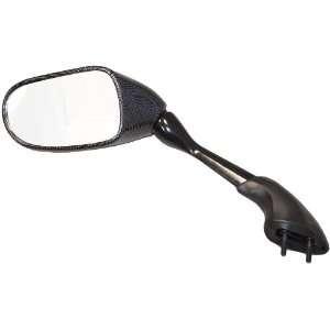 MIR18CBL Carbon OEM Style Left Side Mirror for Yamaha FZ1 Automotive