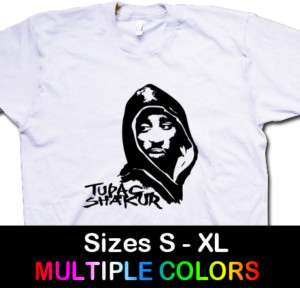 TUPAC SHAKUR Hip Hop/Rap Funk 2pac T Shirt Tee S,M,L,XL