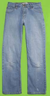 Levis Midrise Bootcut sz 10 x 30 Stretch Womens Blue Jeans Denim Pants