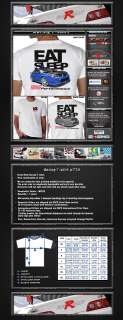 New JDM Eat Sleep Sti Subaru Rally Racing T Shirt Impreza All Sizes