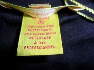 Darling NWT Catherine Malandrino silk jersey dress  Side zip  cute