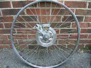 Western Auto Bike complete Disc brake assembly & rim