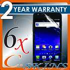 6x c skins samsung galaxy s 2 skyrocket i727 for at t clear screen