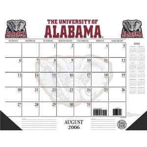 Alabama Crimson Tide 22x17 Academic Desk Calendar 2006 07