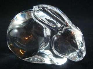 Val Saint Lambert Crystal Rabbit Val Diffusion Belgium