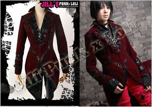 Goth Visual medieval emperor Frances tuxedo suit 323 BU