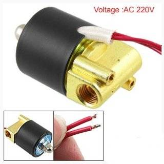 Ac 220v 2 Way 1/4 Gas Water Pneumatic Electric Solenoid Valve