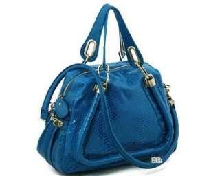 Faux Leather Bag Purse Handbag Tote 7 colors ACP003