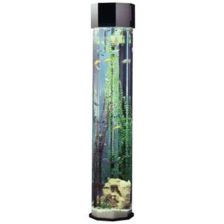 Octagon Aqua 55 Gallon Tower Aquarium Fish