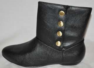 CHINESE LAUNDRY Noelle Black Ankle Boots Size 7M NEW