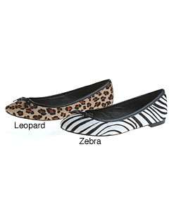 Steven by Steve Madden Persuade1 Animal Print Flats