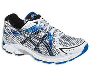 Asics Gel 1170 White/Black/True Blue (4E) Mens Running Shoes