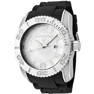 Swiss Legend Mens 20068 02 Commander Collection Stainless Steel White