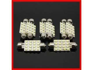 42mm 16 LED SMD SMT Interior Festoon Dome Light Car Bulbs New
