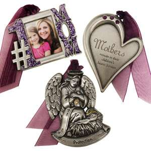 Gloria Duchin 3pc Mother Ornament Set Personalized Gifts