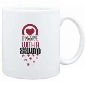 Mug White  in love with a Xun  Instruments Sports