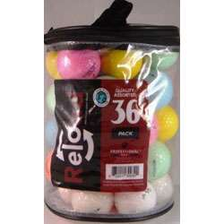 Assorted Color Recycled Golf Balls (Pack of 72)