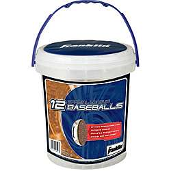 Franklin Sports Official League Baseballs (Pack of 12)