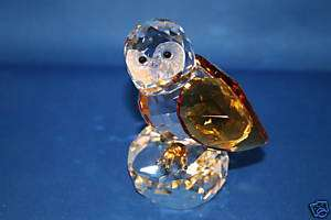 CRYSTAL WISE OWL BIRD COLLECTIBLE FIGURINE