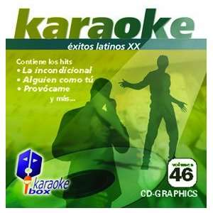 KBO 46 xitos Latinos Xx(Karaoke) Chayanne Luis Miguel