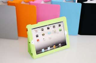 pcs Apple iPad 2 Protective Magnetic Smart Cover Case Green