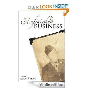 Unfinished Business Alan Simon  Kindle Store