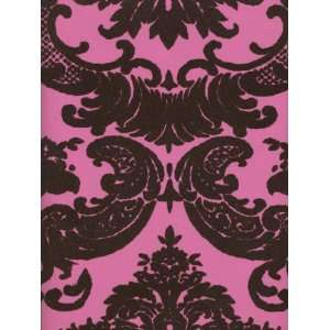 Wallpaper Astek Velvet Collectibles III Hot Pink VC0812