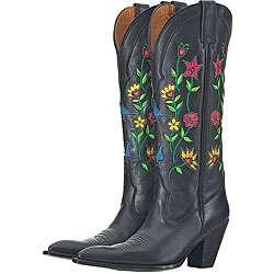 Lane by Anna Harris Womens Bouquet Cowboy Boots