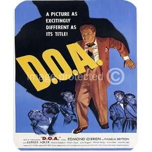 DOA Vintage Movie MOUSE PAD: Office Products