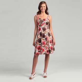 London Times Womens Floral Dress