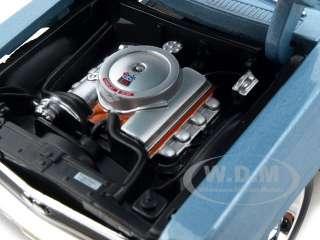 1970 CHEVY NOVA SS COUPE BLUE 1:24 DIECAST MODEL CAR