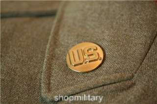 WW II U.S. ARMY 7th CORPS 7th ARMORED DIVISION EM OD WOOL UNIFORM WITH