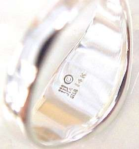 AVERY Sterling Silver / 14KT Gold Mens Cross Ring; Size 11.5
