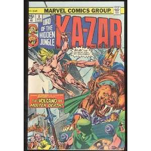 Ka Zar, v1 #8. Mar 1975 [Comic Book] Marvel (Comic