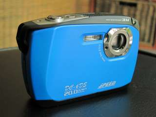 SPEED 8MP underwater digital camera, IPX8 waterproof, free SD card