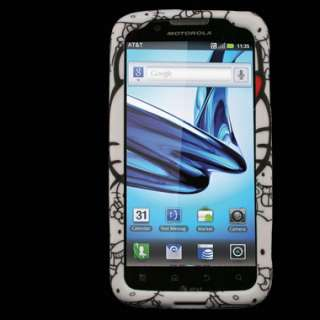 Motorola ATRIX 2 MB865 II AT&T Hello Kitty Cover Skin Faceplate