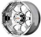 18 inch 955 MO955 CHROME OFFROAD CHEVY FORD Truck Wheels RIMS SET