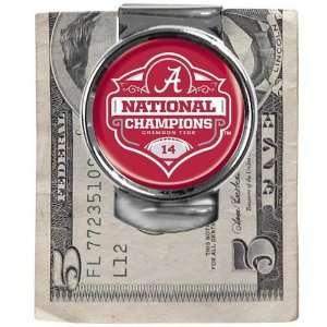 Alabama Crimson Tide 2011 BCS National Champions Silvertone Money Clip