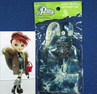 Pullip Jun Planning Denim Overalls K 510 Doll Outfit