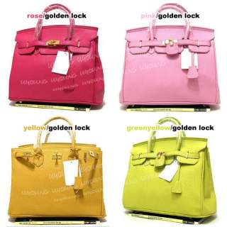Star style High quality Classic Elegant golden lock bag lady handbag