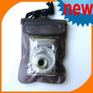 Waterproof Digital Camera Pouch Dry Bag Beach ski Pink
