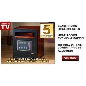 Gen4 Quartz Infrared Portable Heater, 5,000 BTUs:  Home