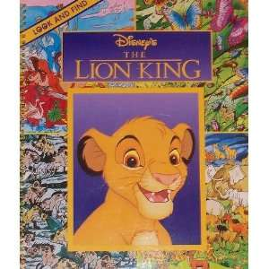 Disneys The Lion King   Look and Find (9780785367833