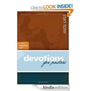 Devotions for Pastors (Pastor Appreciation): Stan Toler:
