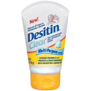 Desitin Clear Multi Purpose Diaper Rash Ointment, 3.5 oz